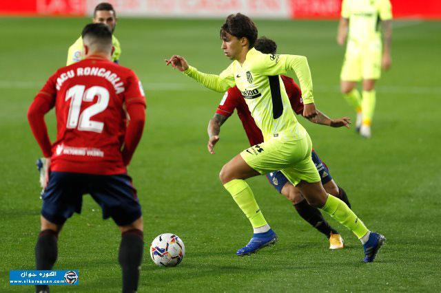 Photo of أتلتيكو مدريد يفوز على أوساسونا بثلاثية فى الدوري الإسباني
